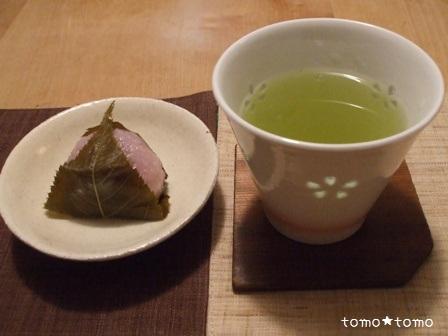 桜餅&桜花